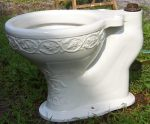 "Embossed Bowl, 1-1/2"" Top Spud...$2100***SOLD***"