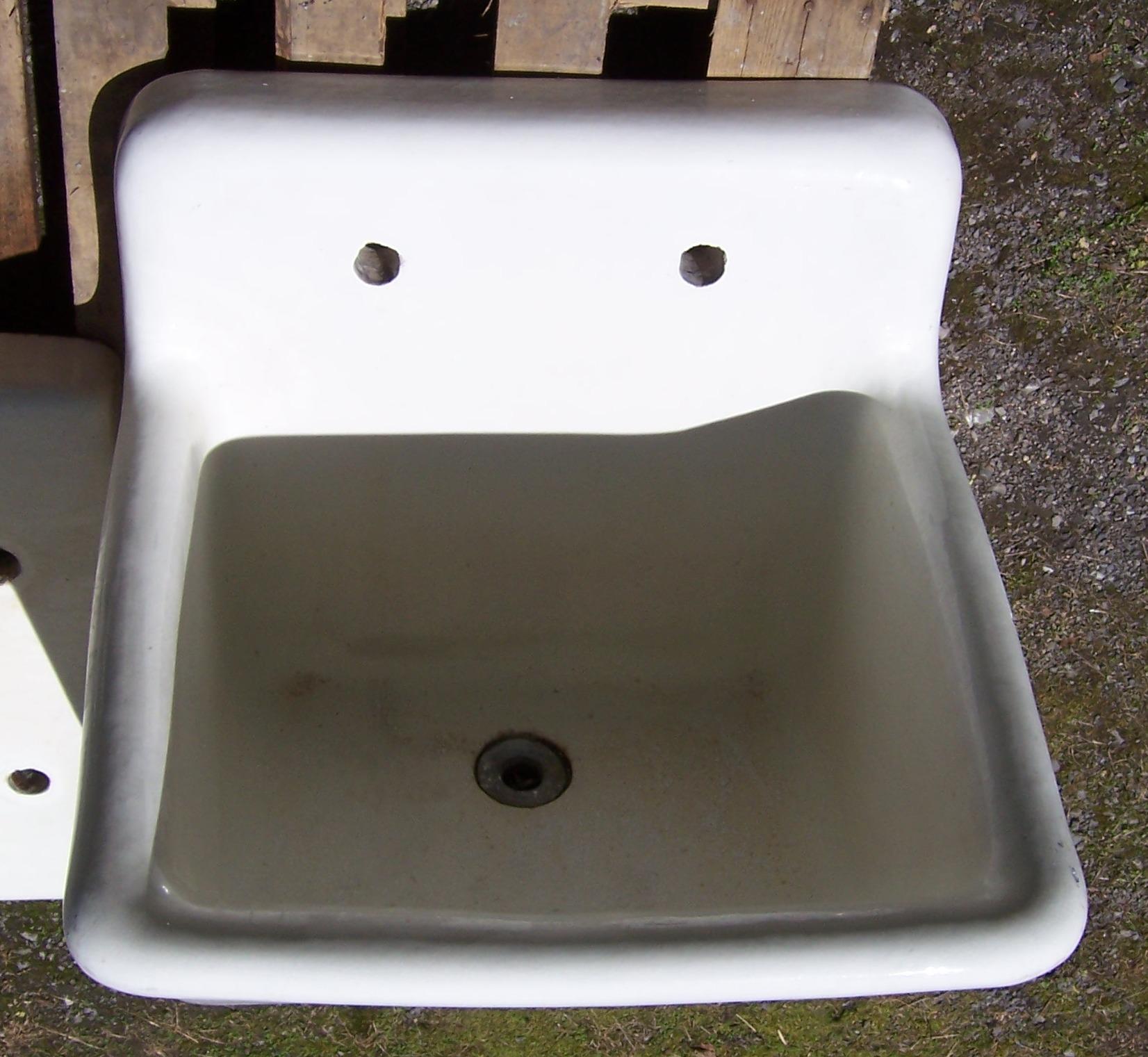 Vintage Utility Sink : Earthenware Utility Sink -26-1/2? x 26-1/2??$950