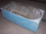 "Rare 54"" Copper Coffin Bath"