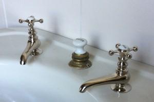 """Schwander"" Basin Faucets...$585/pr."