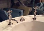"""Pencil Neck"" Basin Taps, new nickel...$520"