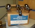 Wards Bath Filler, circa 1950 - New Old Stock...$290