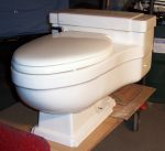 "Case ""Regency"" Toilet - $650.00"