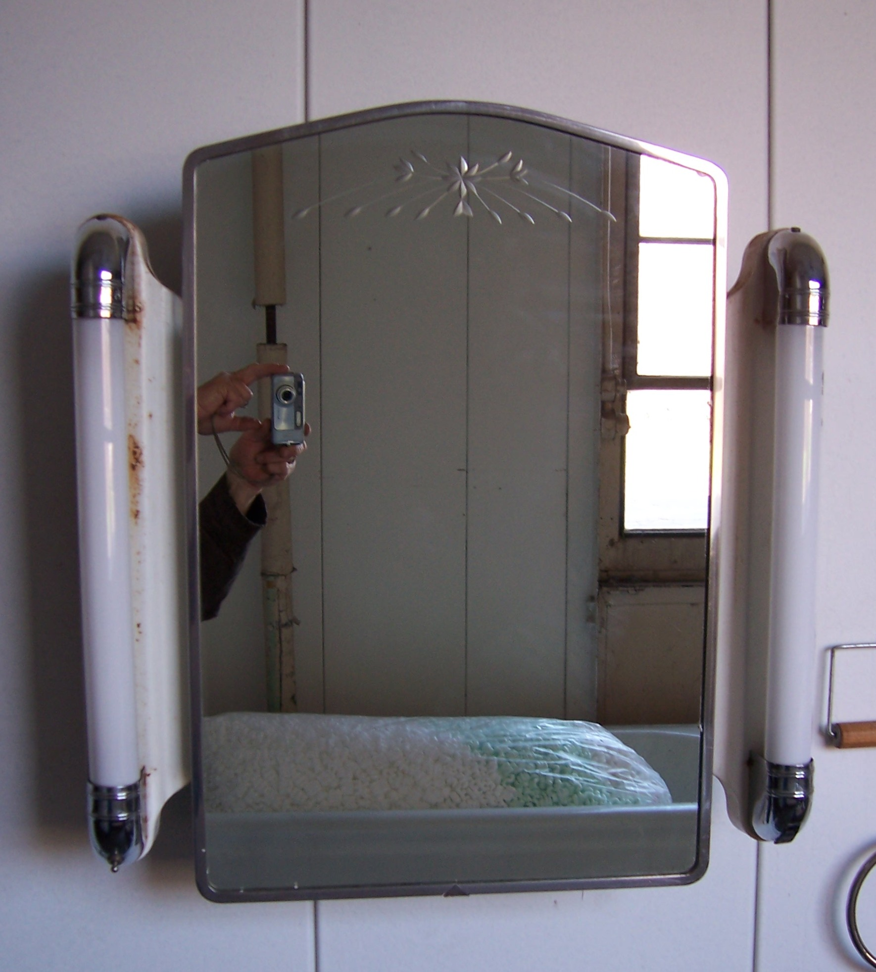 Image Result For Bathroom Mirror Recessed Cabinet