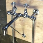 MOTT Sink Faucet, $1250...$1400 - new nickel