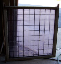 """40"""" x 41"""" Luxfer Glass Windows - 2 Avail...$350 ea"""